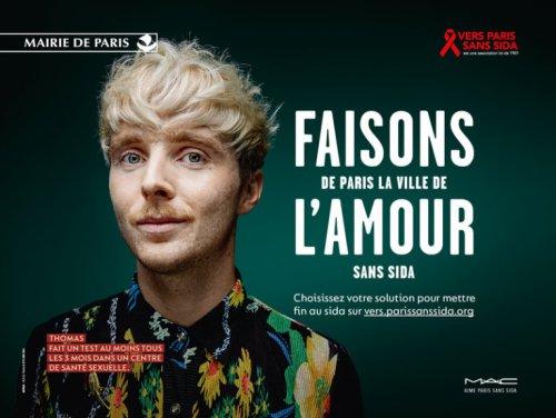 Campagne Paris Amour Sans SIDA
