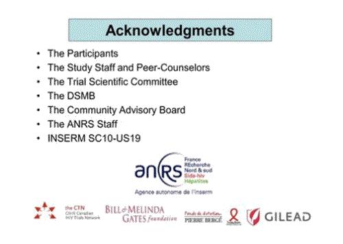 CROI2015 Ipergay ANRS acknoledgements